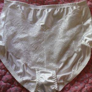 Vtg Bali Liquid Satin Full Panties Briefs